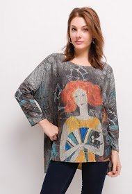 BELLOVE printed sweater