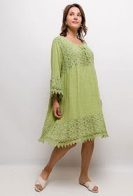 BELLOVE dress with lace