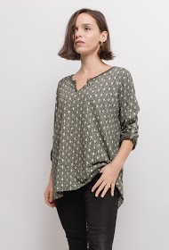 BELLOVE gold patterned t-shirt