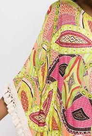 BELLOVE kleid mit aufgedrucktem leopardenkaktus