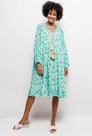 BELLOVE kleid mit blumenmuster