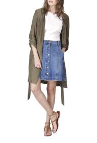 BLACK MOJITO DENIM daft skirt