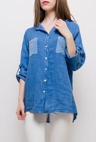 BLOSSUN linen shirt