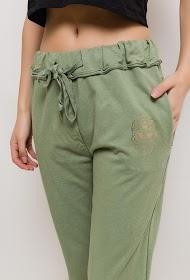BLOSSUN stretch cotton trousers
