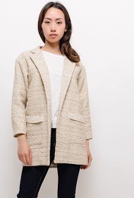 BLOSSUN blazer and tweed
