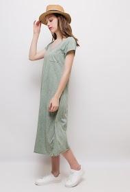 BLOSSUN cotton long dress