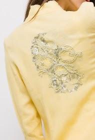 BLOSSUN blazer and linen