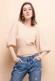 BY SWAN blouse en dentelle crochet