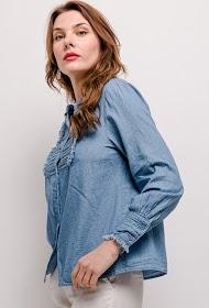 BY SWAN chemise en jean
