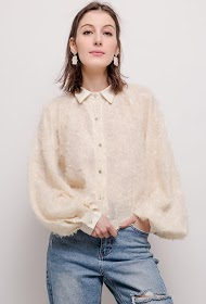 BY SWAN textured shirt