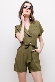 BY SWAN buttoned playsuit