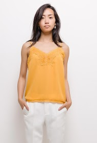 BY SWAN tank top with lace