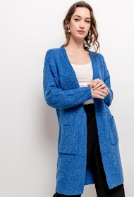 BY SWAN gilet long ouvert