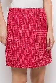 BY SWAN tweed skirt
