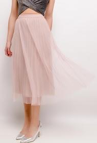 BY SWAN jupe midi plissée