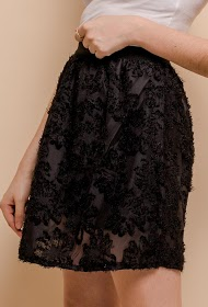 BY SWAN textured skirt