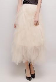 BY SWAN ruffled skirt