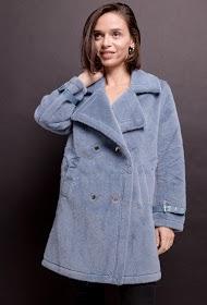 BY SWAN cappotto di pelliccia