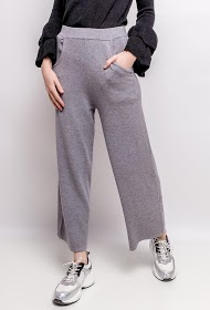 BY SWAN wide mesh trousers