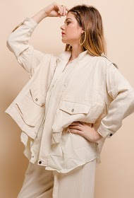BY SWAN cotton parka
