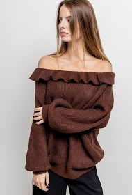 BY SWAN off-the-shoulder sweater