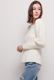 BY SWAN puff sleeve sweater