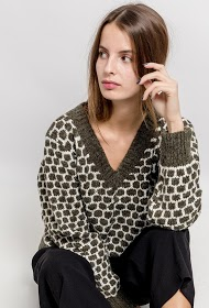 BY SWAN patterned sweater