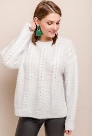 BY SWAN suéter de cabo