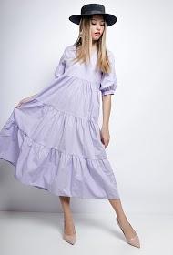 BY SWAN robe midi ample