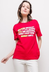BY SWAN printed t-shirt checklist