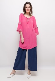 BY SWAN tunic with detelle