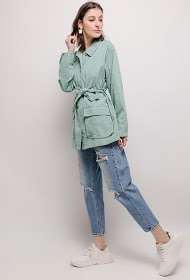 BY SWAN cotton jacket