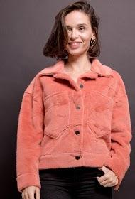 BY SWAN giacca di pelliccia