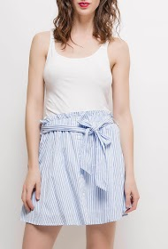 CERISE BLUE striped skirt