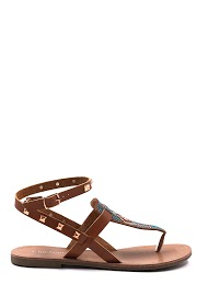 CHIC NANA rhinestone sandals