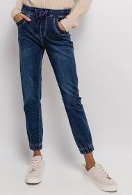 CHIC SHOP elastic waist jeans