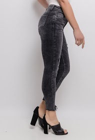 CHIC SHOP skinny ripped jeans