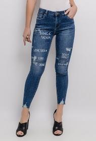 CHIC SHOP jeans estampados