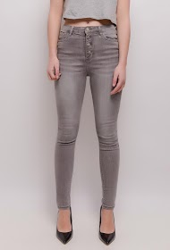 CHIC SHOP jeans skinny cinza