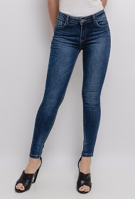 CHIC SHOP jeans skinny de cintura alta