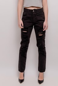 CHIC SHOP ripped trousers