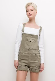 CHIC SHOP studded overalls