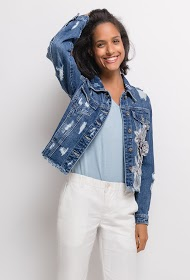 CHIC SHOP jacket with embroidery