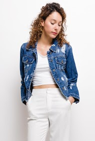 CHIC SHOP jeans torn jacket