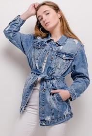 CHIC SHOP worn denim jacket