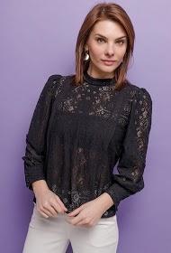CHOKLATE lace blouse