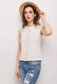 CHOKLATE lace tank top