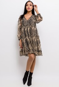 CHOKLATE lace dress