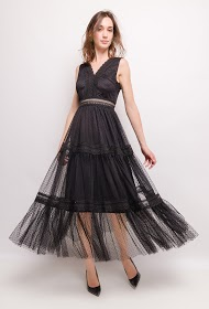 CHOKLATE tulle dress