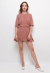 CHOKLATE flowery dress